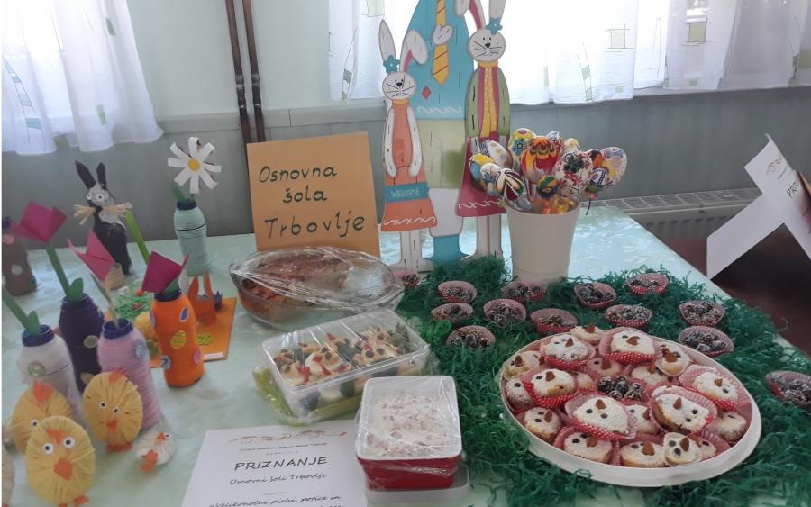 Razstava velikonočne hrane in izdelkov