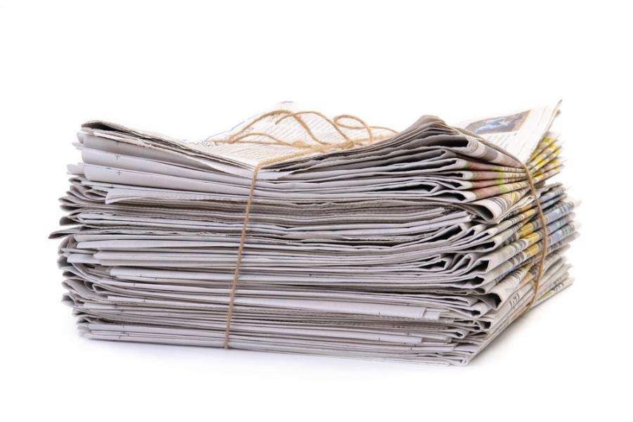 1. zbiralna akcija papirja